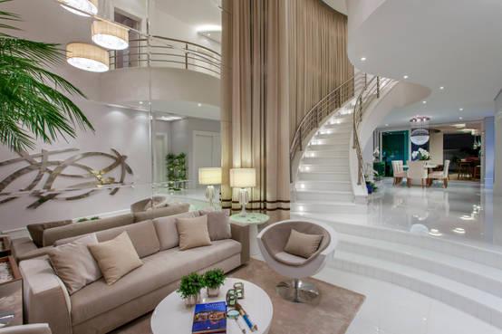 8 sensacionales dise os para transformar el techo de tu casa for Salas con escaleras