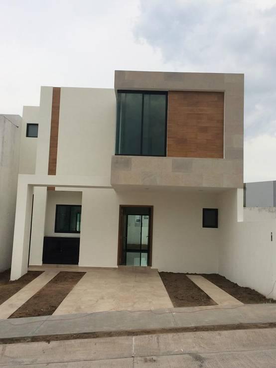 Simplemente 5 fachadas peque as y modernas Estilos de fachadas para casas pequenas