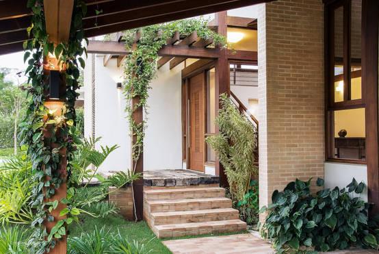 12 Inspirasi Rumah Dengan Dinding Batu Bata Ekspos