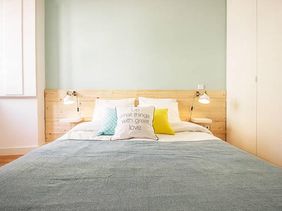Prachtige slaapkamers van minder dan vierkante meter