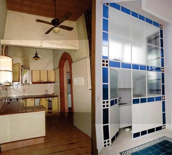 Hermosa Cambios De Imagen De La Cocina De La Galera Del Condominio ...