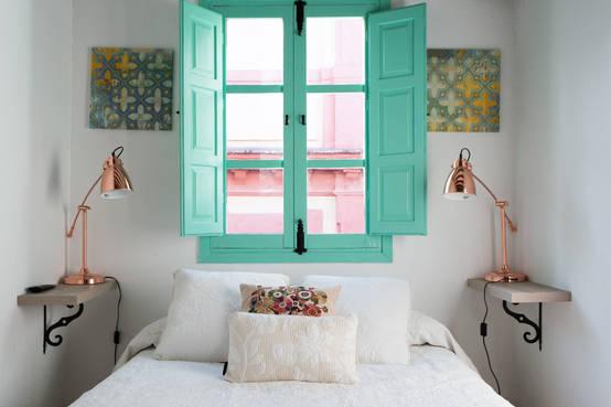 16 فكرة مختلفة لإضاءات جانبية لغرف النوم