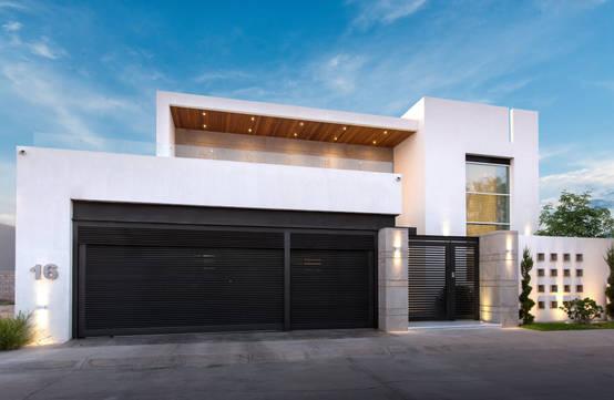 Dez casas de dois andares por arquitectos mexicanos - Fachadas clasicas ...