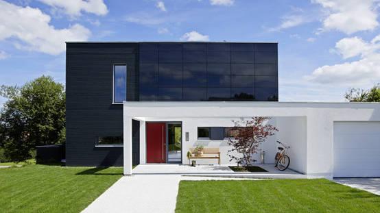 zukunftsweisendes wohnen im einfamilienhaus. Black Bedroom Furniture Sets. Home Design Ideas
