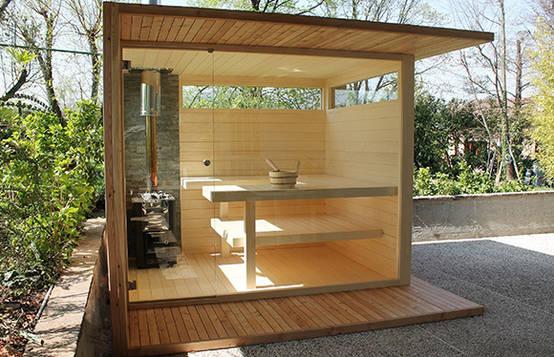 Construye tu propio sauna en tu jardín en 6 pasos