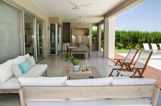 7 galer as con quincho para disfrutar al aire libre del for Parrillas para casas modernas