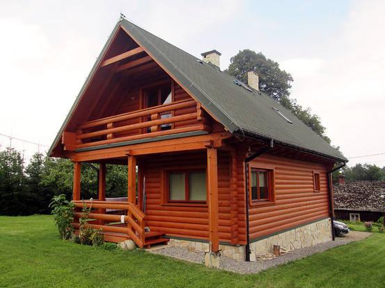 Planos y fachadas de casitas de madera