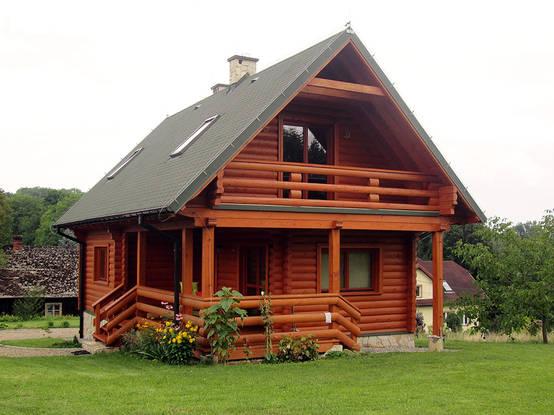 thiết kế nhà gỗ nhỏ 1