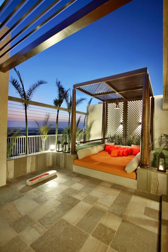 Wonderful ideas to make your terrace amazing for Casas con terraza al frente