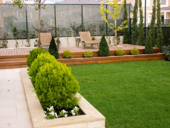 15 lindas ideias de jardins para renovar seu quintal pequeno - Plantas jardineras exterior ...