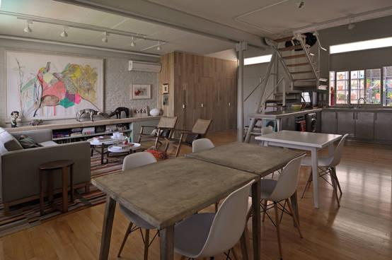 Dise o de interiores con estilo industrial for Diseno de interiores estilo industrial