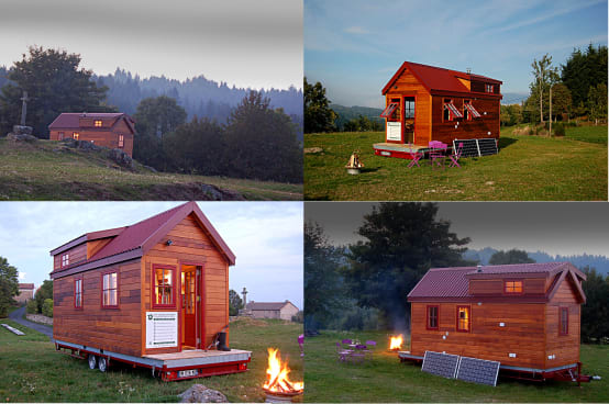 Tiny houses: A small wooden prefabricated home | homify