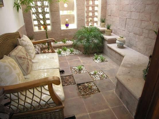 12 jardines peque os y super privados for Fotos jardines pequenos para casas