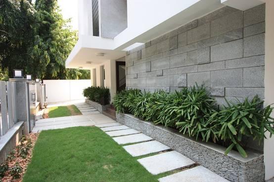16 ideias de canteiros para a sua casa for Casa moderno kl