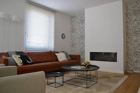 : Houtlook tegels woonkamer is kies dan voor keramische. Behangpapier ...