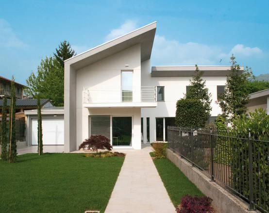 5 case moderne belle sia dentro che fuori for Immagini di entrate di ville