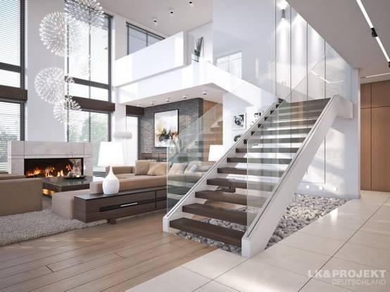 11 Tolle Ideen Für Einen Steingarten Unter Der Treppe