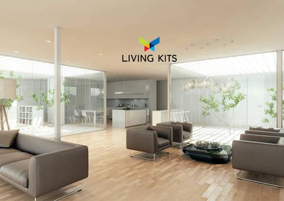 Homify for Casa minimalista living