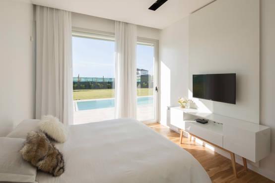 10 dormitorios tan peque os como minimalistas for Dormitorios minimalistas pequenos