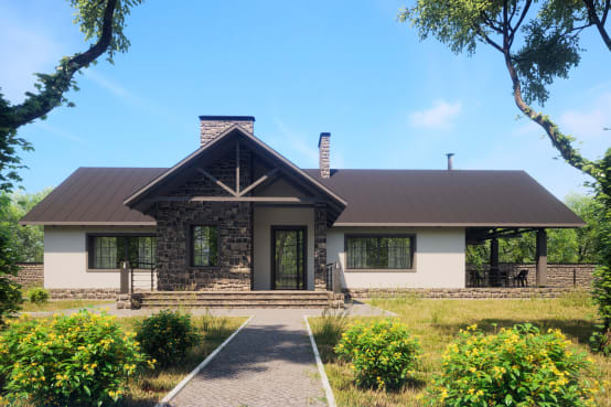 Beautiful country home with 1625 ft² of comfy allure
