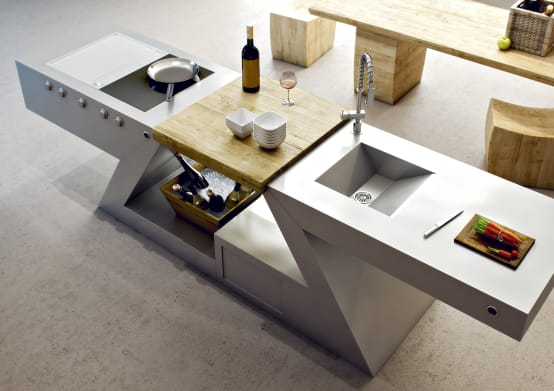 Modern kitchens by the outstanding Zed Experience