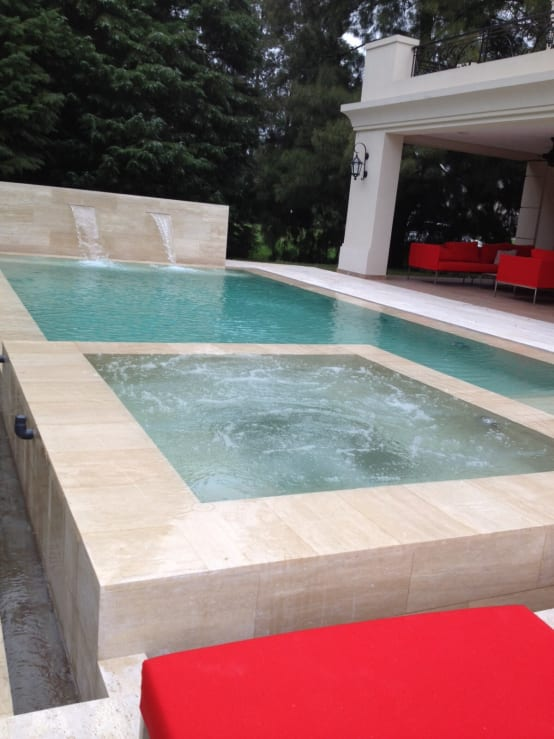 Homify for Marmol travertino chile