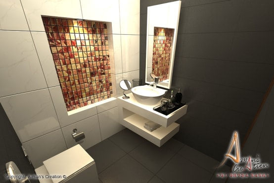 Small bathroom tile ideas for Indian homes | homify