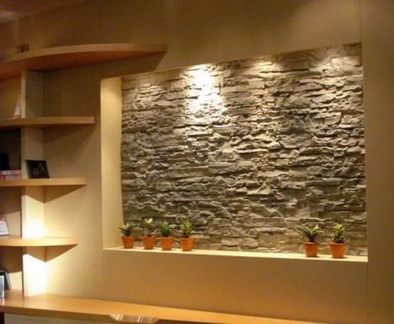 13 Ideen Um Deine Wände Mit Stein Zu Verschönern