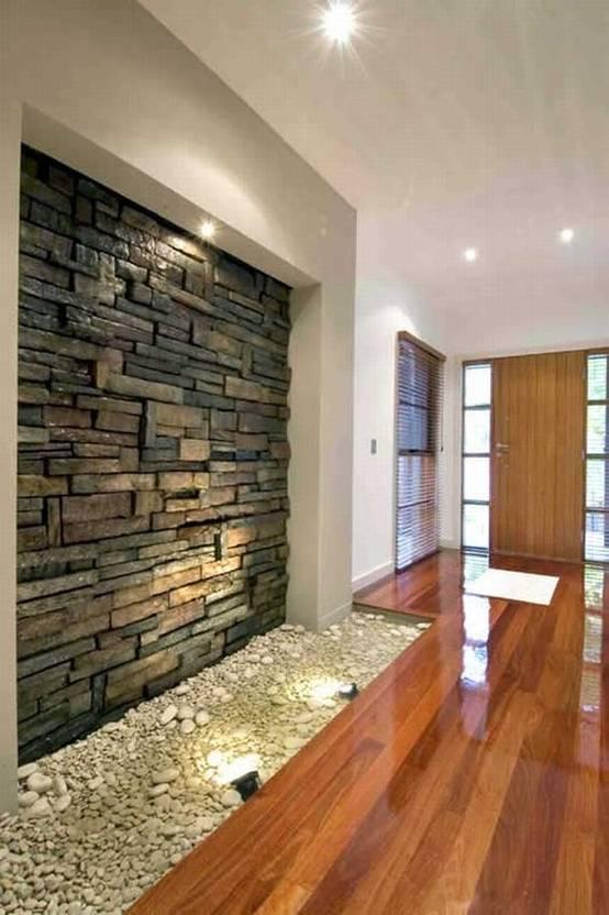 16 ideen f r w nde im flur mit dem gewissen etwas. Black Bedroom Furniture Sets. Home Design Ideas