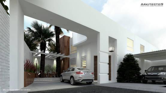 Homify for Modernizar fachada casa