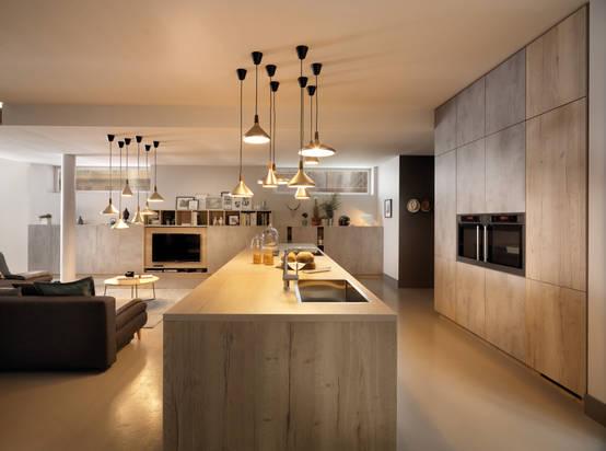 Wie kann ich die Küche vom Wohnzimmer trennen?   homify
