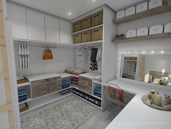 20 vestidores y placares ideales para espacios chiquitos for Comedores chiquitos