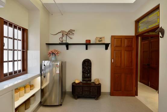 6 Ideas para colocar la nevera en mini apartamentos