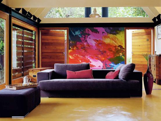 7 ideas para decorar tus espacios con madera laminada for Como cocinar setas parasoles