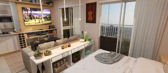 C mo decorar un mini apartamento for Como decorar un apartamento