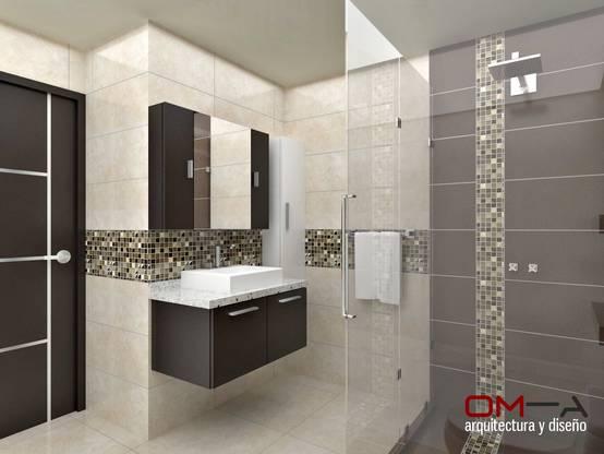 6 tips for installing large tiles in a small bathroom for Interiores de banos pequenos