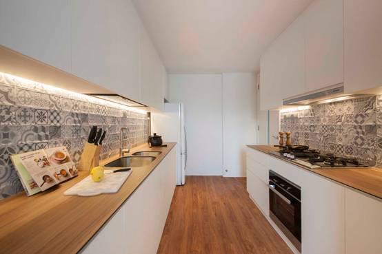 La parete della cucina le idee innovative per decorarla for Apri le planimetrie della cucina
