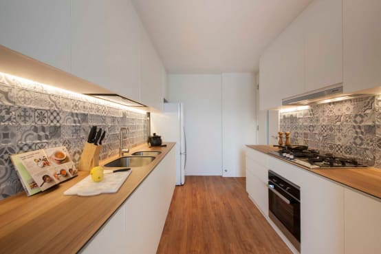 La pared de la cocina… ¿Qué hacer con ella?