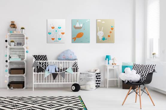 Top 10 dekoracji do pokoju dziecięcego | homify