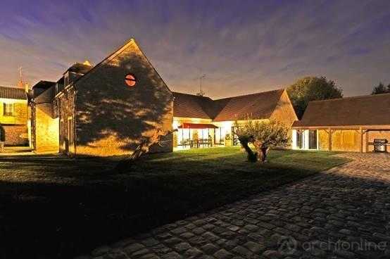 Passer d 39 une maison traditionnelle ultra moderne en un for Exterieur d une maison