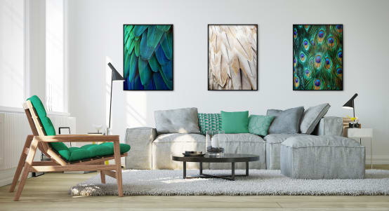 ​A fresh look: homify's green living room ideas