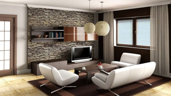 15 pictures of stone-wall claddings for your home