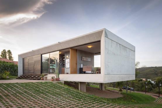 r aliser sa maison moderne en campagne avec seulement 95 m