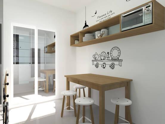 9 x inspiration f r die k chenwand mit diesen ideen wird sie einzigartig. Black Bedroom Furniture Sets. Home Design Ideas
