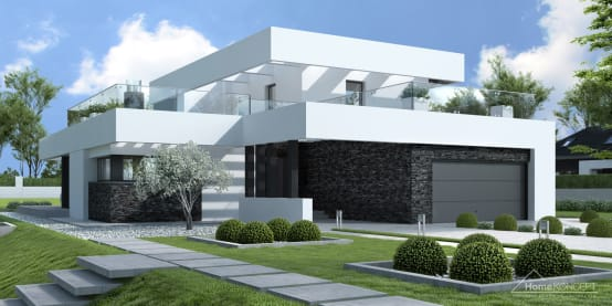 A Modern House Concept With Plans You Can Copy