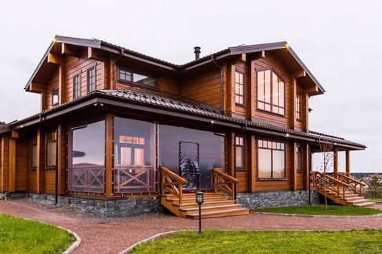 Casas de madera y concreto: ideas e inspiración