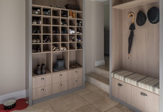 Homify for Mueble guarda zapatos