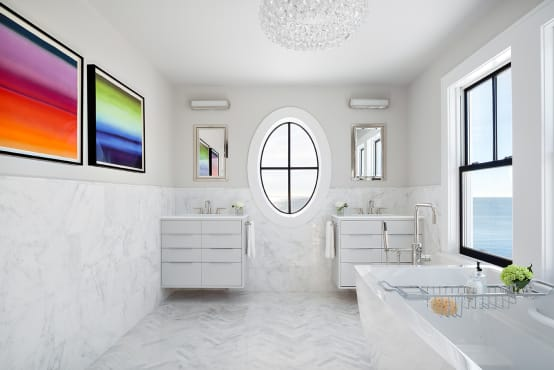7 clever tips for small and modern bathrooms