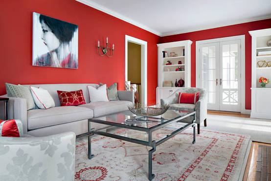 10 colores para que las paredes de tu casa se vean modernas - Colores de pinturas para salones ...