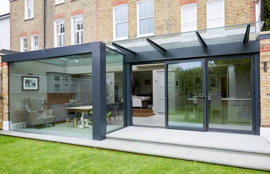 Idee n opdoen 17 x een super unieke uitbouw for Glazen uitbouw